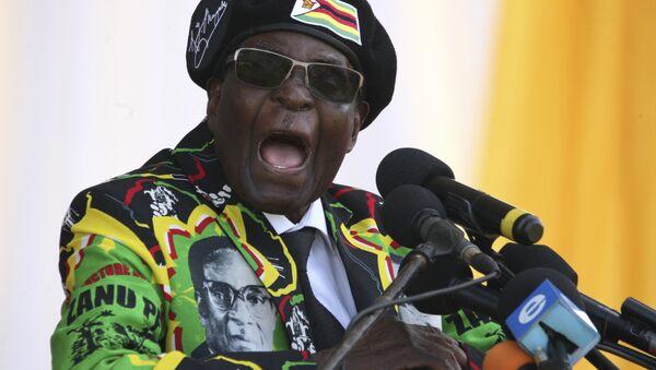 Robert Mugabe - Sputnik Polska