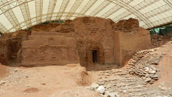 Starożytne miasto Dan w Izraelu - Sputnik Polska