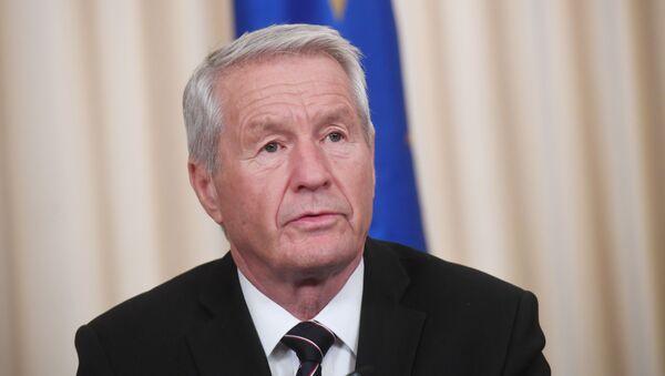 Sekretarz generalny Rady Europy Thorbjørn Jagland. Zdjęcie archiwalne - Sputnik Polska