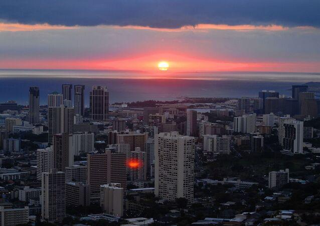 Zachód na Hawajach
