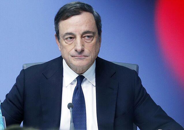Prezes Europejskiego Banku Centralnego Mario Draghi
