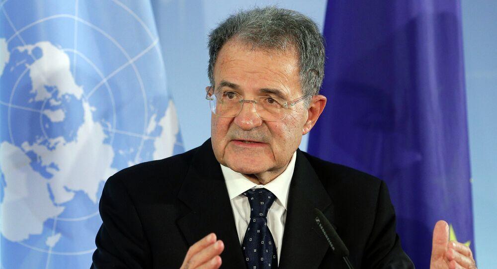 Były szef Komisji Europejskiej i były premier Włoch Romano Prodi