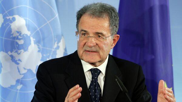 Były szef Komisji Europejskiej i były premier Włoch Romano Prodi - Sputnik Polska