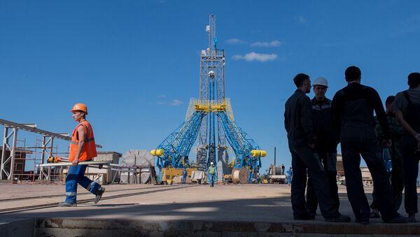 Plac budowy kosmodromu Wostocznyj - Sputnik Polska