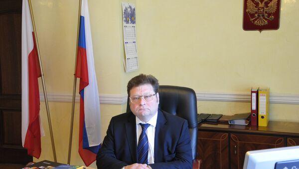 Vladimir Nefedov, Szef  Przedstawicielstwa Handlowego przy Ambasadzie Federacji Rosyjskiej w Polsce - Sputnik Polska