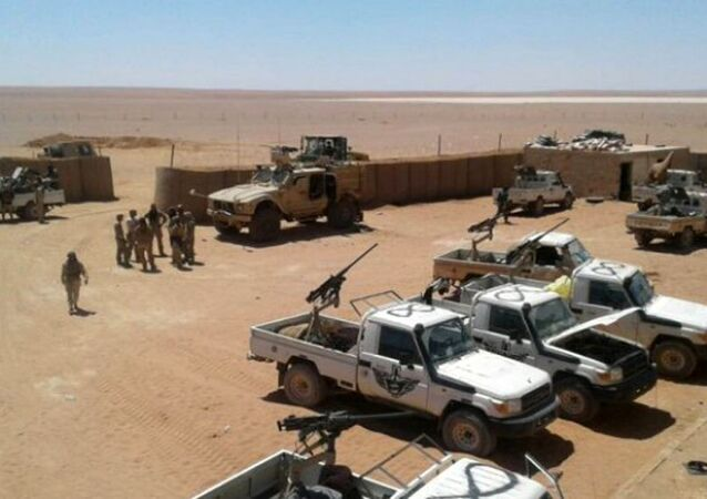 Amerykańska baza w At Tanf, Syria