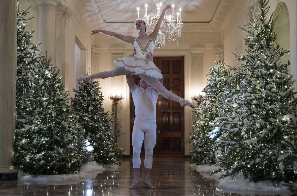 Tancerze baletowi w Białym Domu