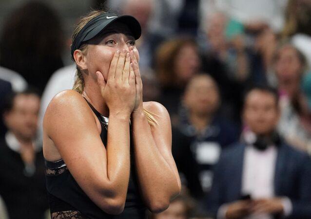 Rosyjska tenisistka Maria Szarapowa