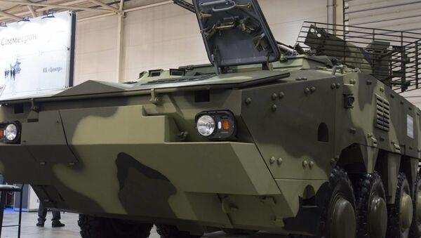 Nowy ukraiński transporter opancerzony BTR-4MB1 - Sputnik Polska