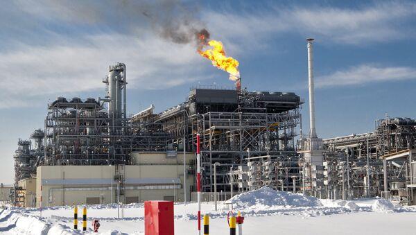 Obszar pierwszego w Rosji zakładu produkującego LNG na Sachalinie - Sputnik Polska