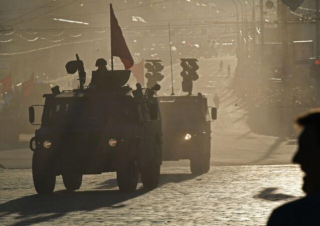 Technika wojskowa w Moskwie