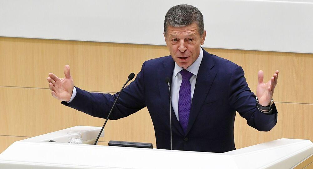 Zastępca przewodniczącego rządu Federacji Rosyjskiej Dmitrij Kozak