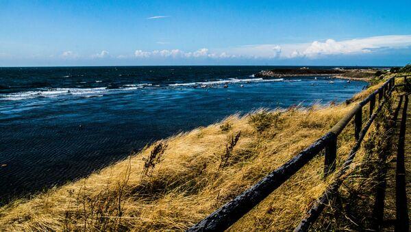 Morski pejzaż duńskiej wyspy Bornholm, Dania - Sputnik Polska