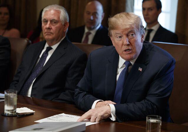 Donald Trump i Rex Tillerson