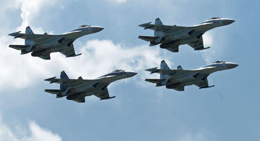 Wielozadaniowe niszczyciele Su-35