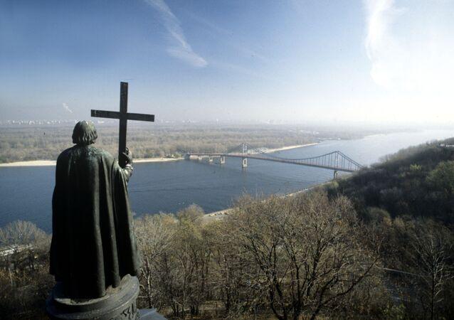 Pomnik księcia Włodzimierza w Kijowie
