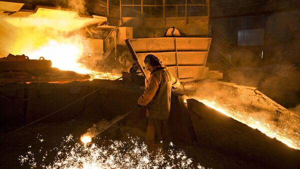 Fabryka stali w Rosji - Sputnik Polska