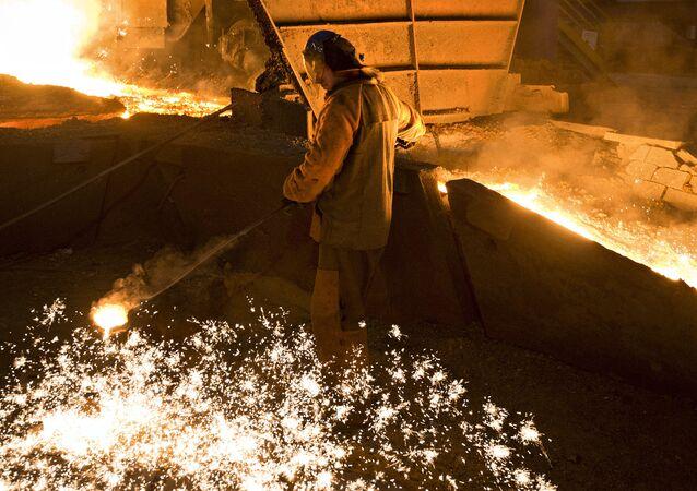 Fabryka stali w Rosji