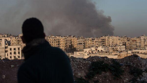 W syryjskim mieście Aleppo - Sputnik Polska