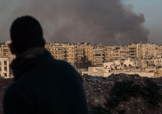 W syryjskim mieście Aleppo