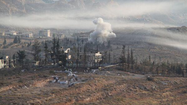 Operacja specjalna syryjskiej armii w mieście Harasta - Sputnik Polska