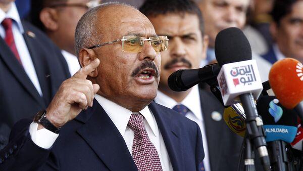 Były prezydent Jemenu Ali Abd Allah Salah - Sputnik Polska