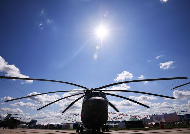 Śmigowiec Mi-26, wystawa MAKS 2017