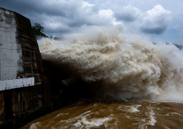 Tajfun w Wietnamie