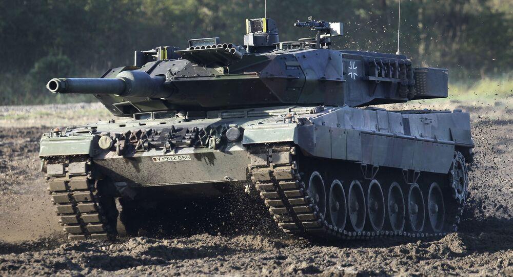 Niemiecki czołg Leopard 2