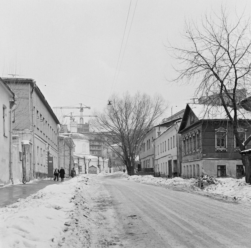 Ulice Starego Arbatu w Moskwie, 1967 rok