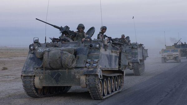 Amerykański transporter opancerzony M113, Irak - Sputnik Polska