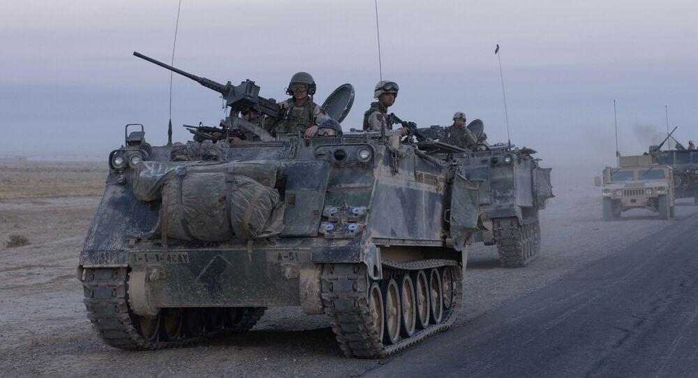 Amerykański transporter opancerzony M113, Irak