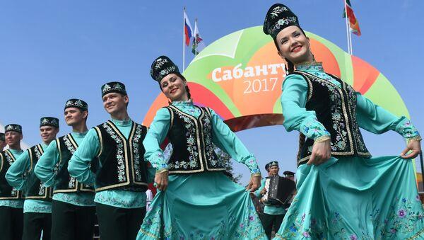 Obchody święta Sabantuj w Kazaniu - Sputnik Polska