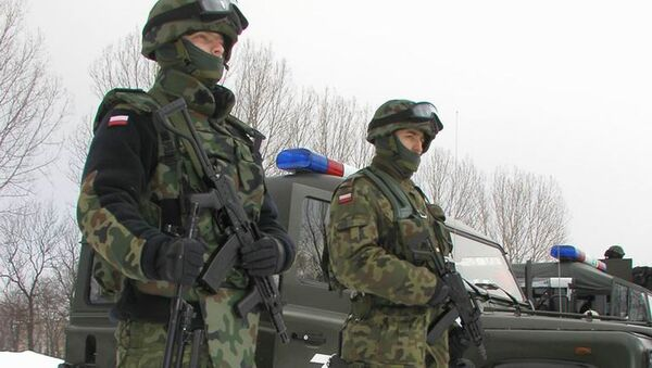 Oficerowie Żandarmerii Wojskowej - Sputnik Polska