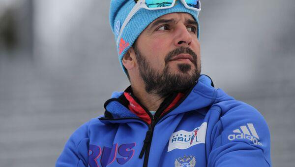 Trener reprezentacji Rosji w biathlonie Ricco Gross - Sputnik Polska