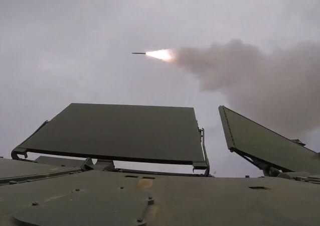 Na poligonie Kapustin Jar odbyły się wystrzały rakietowe z systemów przeciwlotniczych Tor-M2
