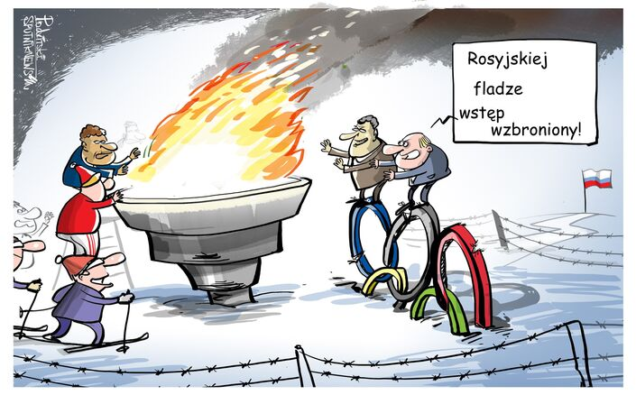 Olimpiada bez rosyjskiej flagi