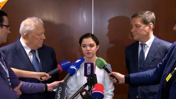Reakcja sportowców na temat udziału w Zimowych Igrzyskach Olimpijskich 2018 w surowych warunkach - Sputnik Polska