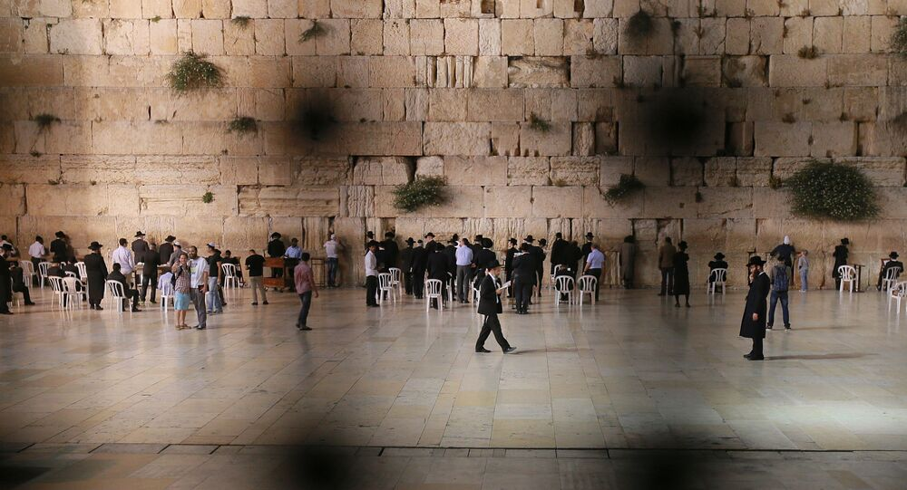 Ściana Płaczu na Starym Mieście w Jerozolimie