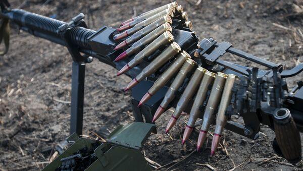 Karabin maszynowy ukraińskiej armii - Sputnik Polska