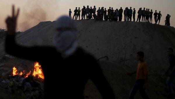Zamieszki w Strefie Gazy - Sputnik Polska