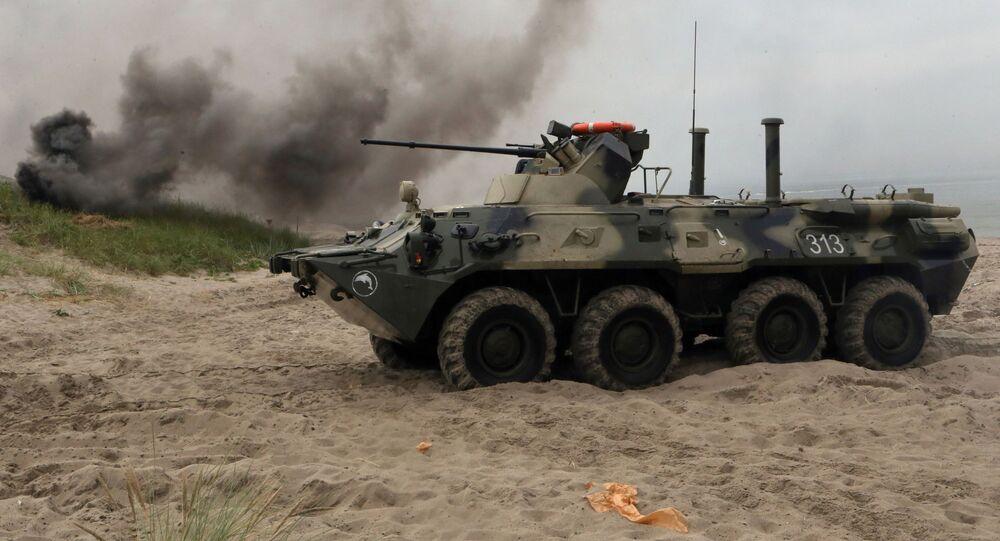 BTR-82A to głęboko zmodernizowana i zmieniona wersja BTR-80