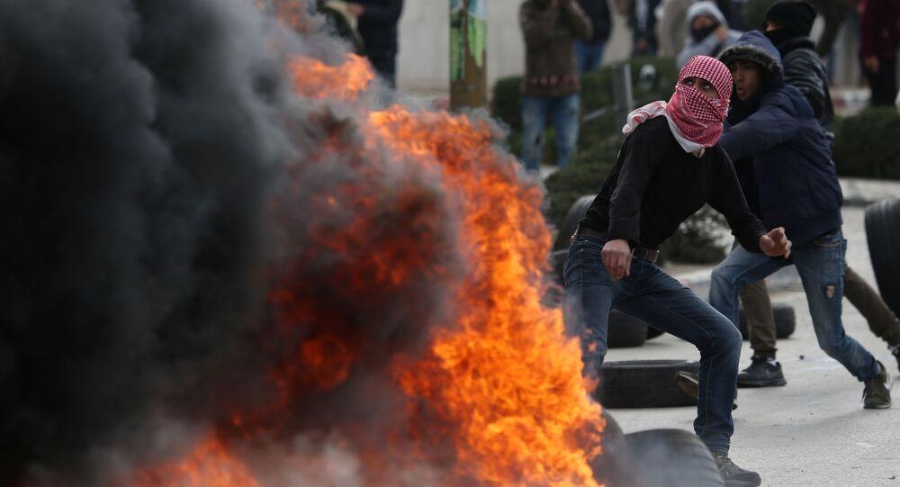 Sytuacja w Palestynie, reakcja na uznanie przez Trumpa Jerozolimy za stolicę Izraela