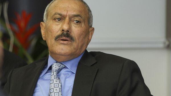 Prezydent Republiki Jemeńskiej Ali Abdullah Saleh. Zdjęcie archiwalne - Sputnik Polska