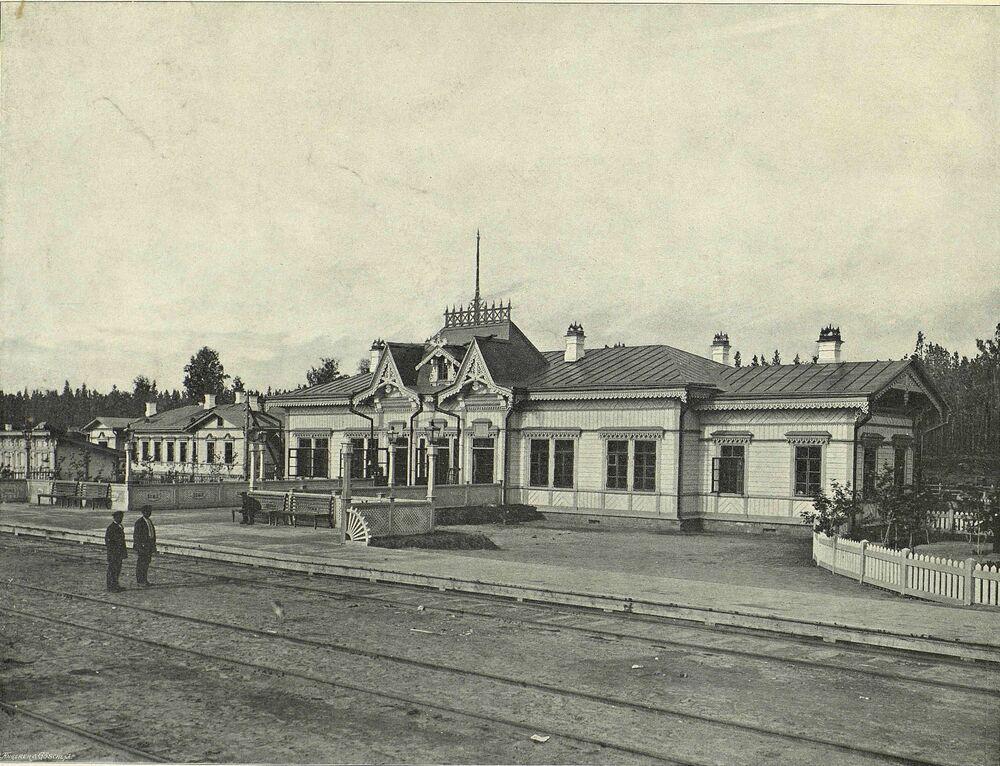 Stacja Ob zlokalizowana w odległości 17 km od Nowosybirska.