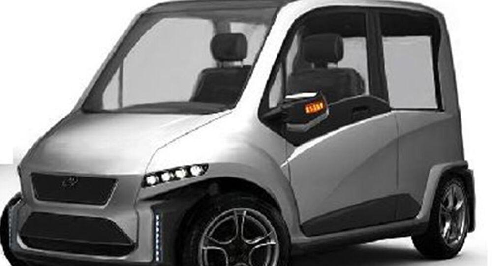 Pierwszy rosyjski samochód sterowany siłą myśli