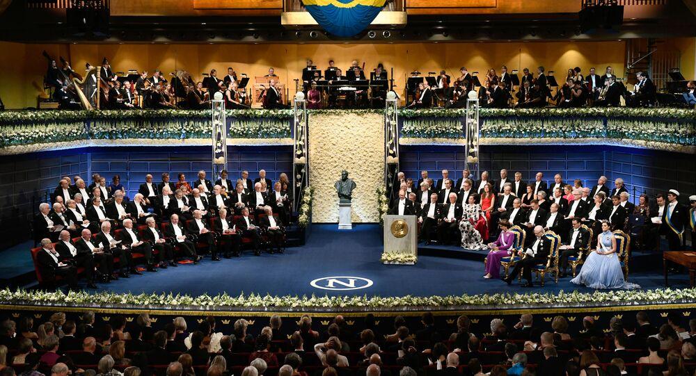 Wręczanie Nagrody Nobla