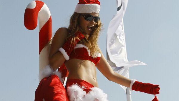 Modelka na pokazie mody w mieście Byblos, Liban - Sputnik Polska