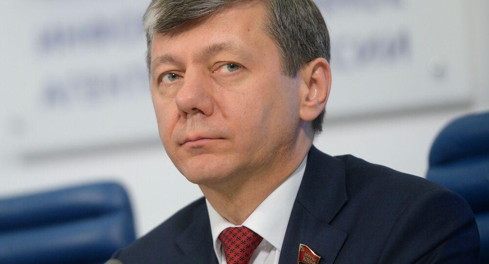 Pierwszy wiceprzewodniczący Komisji Dumy Państwowej ds. Międzynarodowych Dmitrij Nowikow