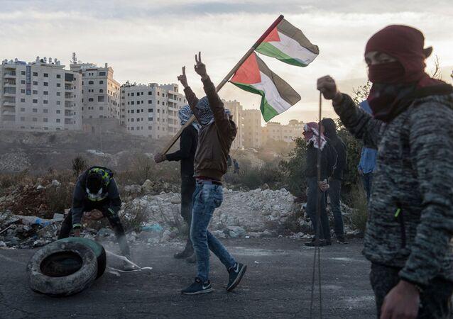 Protesty na granicy Palestyny i Izraela
